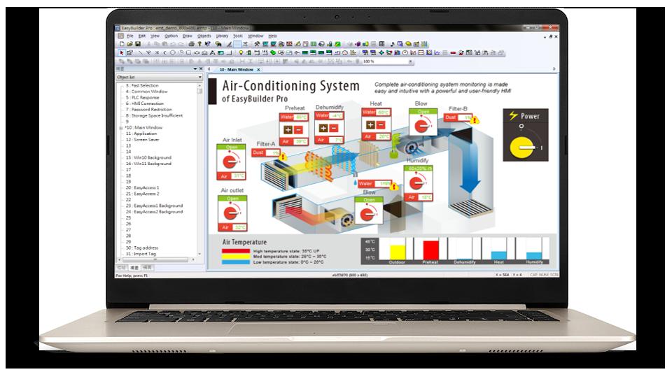 Weintek easybuilder 8000 software.